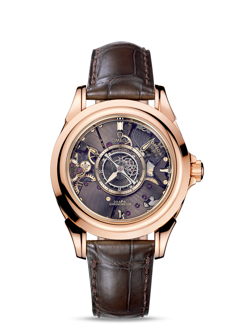 De Ville Tourbillon Co-Axial Numbered Edition 38.7mm - 最小管理単位 513.53.39.21.99.001 Watch presentation