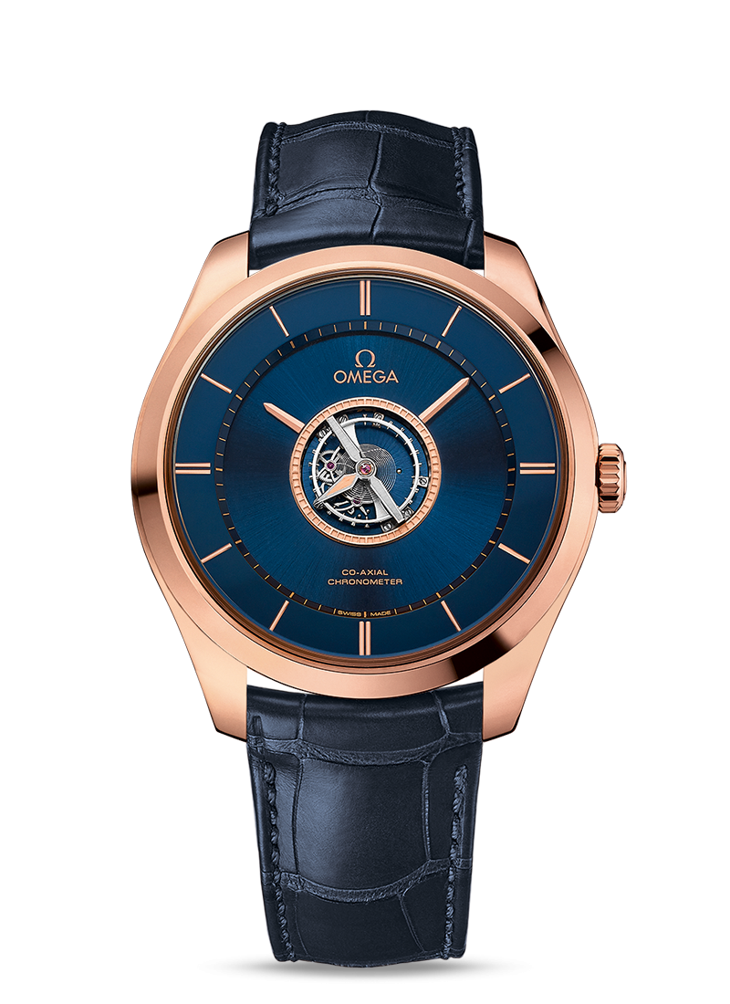 De Ville Tourbillon Co-Axial Numbered Edition 44mm - 最小管理単位 528.53.44.21.03.001 Watch presentation