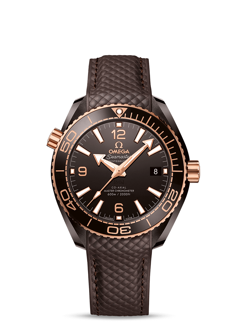 Seamaster Planet Ocean 600M Omega Co-Axial Master Chronometer 39.5 mm - 最小管理単位 215.62.40.20.13.001 Watch presentation