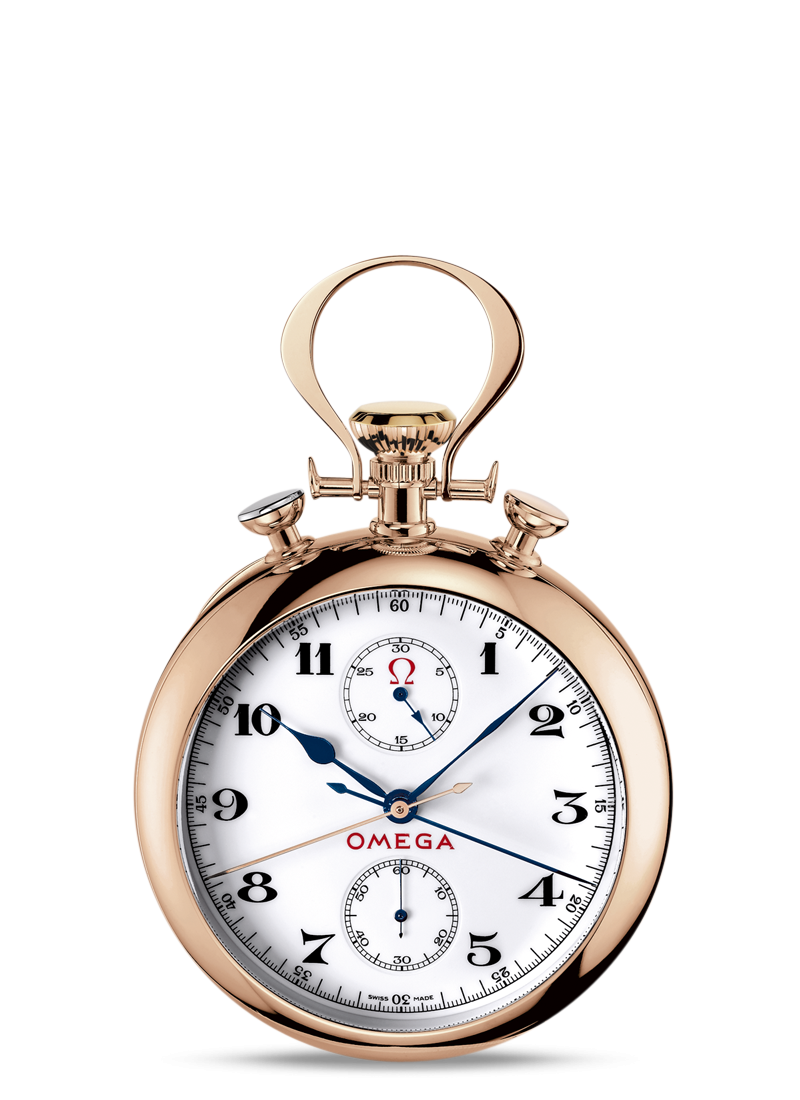 Specialities  Olympic Pocket Watch 1932 - 最小管理単位 5108.20.00 Watch presentation