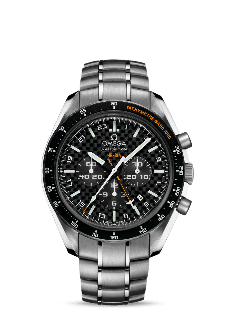 Speedmaster HB-SIA Co-Axial GMT Chronograph Numbered Edition 44.25mm - 最小管理単位 321.90.44.52.01.001 Watch presentation