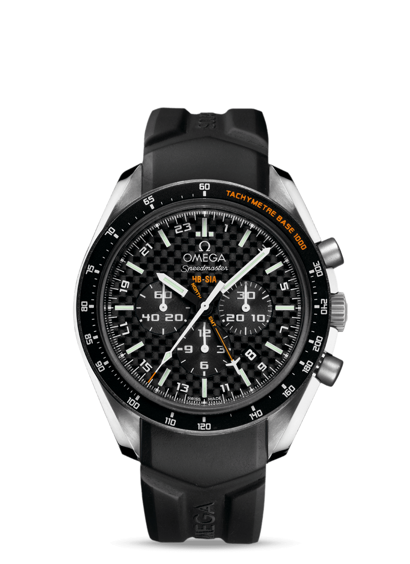 Speedmaster HB-SIA Co-Axial GMT Chronograph Numbered Edition 44.25mm - 最小管理単位 321.92.44.52.01.001 Watch presentation