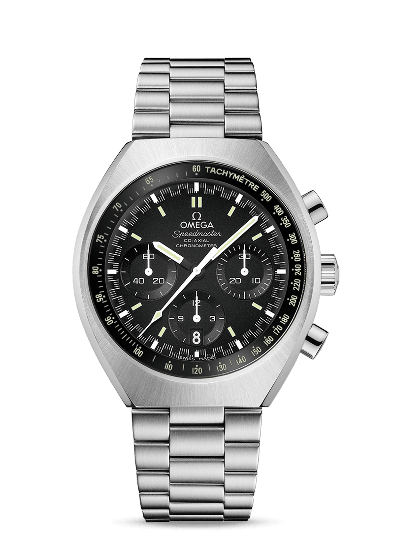 Speedmaster Mark II Co-Axial Chronograph 42.4 x 46.2 mm - 最小管理単位 327.10.43.50.01.001 Watch presentation