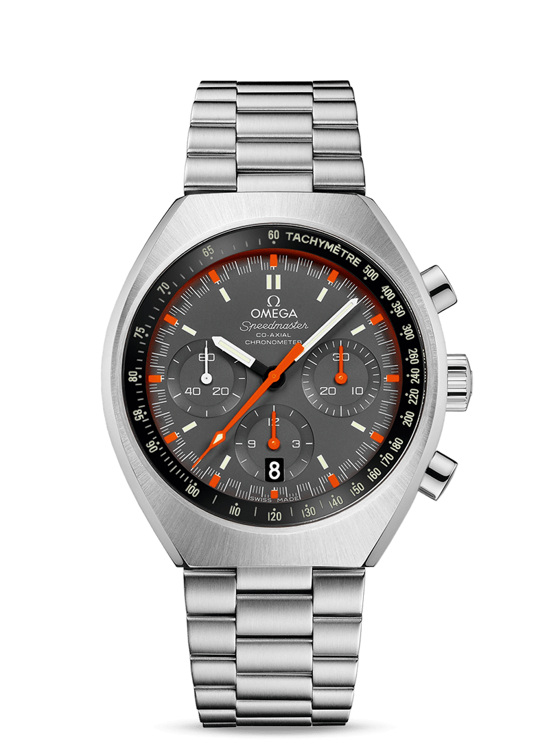Speedmaster Mark II Co-Axial Chronograph 42.4 x 46.2 mm - 最小管理単位 327.10.43.50.06.001 Watch presentation