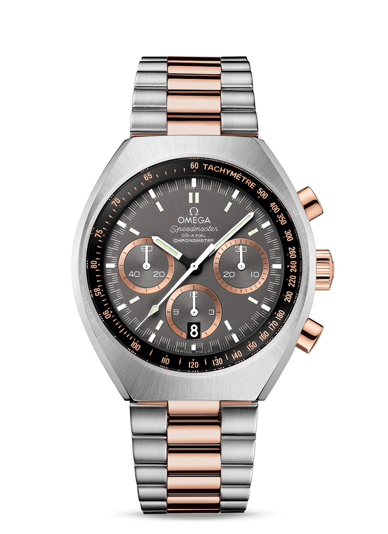 Speedmaster Mark II Co-Axial Chronograph 42.4 x 46.2 mm - 最小管理単位 327.20.43.50.01.001 Watch presentation