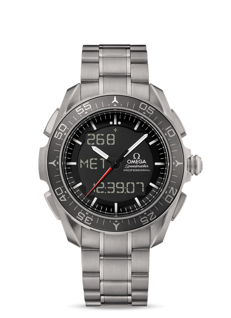 Speedmaster Skywalker X-33 Chronograph 45 mm - 最小管理単位 318.90.45.79.01.001 Watch presentation