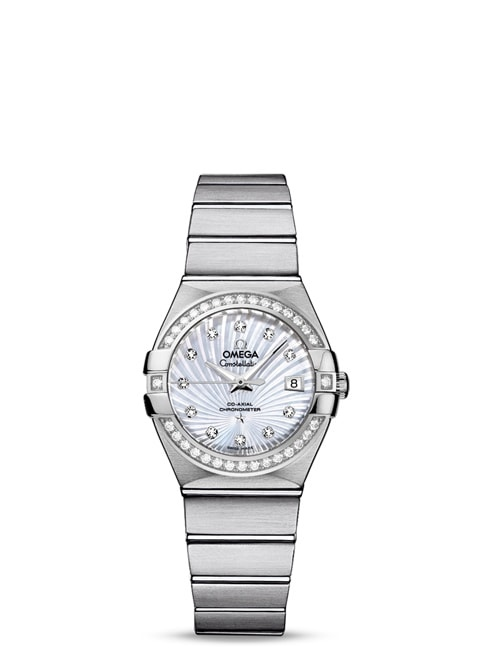 Constellation Omega Co-Axial 27mm - 123.15.27.20.55.001
