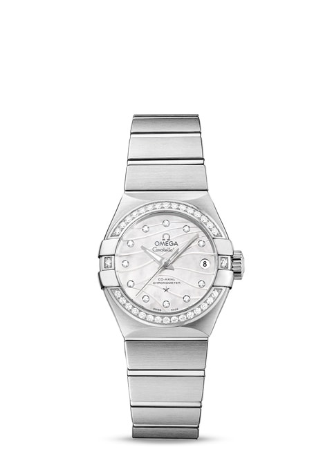 Constellation Omega Co-Axial 27mm - 123.15.27.20.55.002