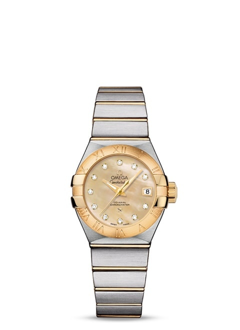 Constellation Omega Co-Axial 27mm - 123.20.27.20.57.002