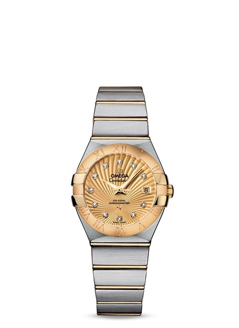 Constellation Omega Co-Axial 27mm - 123.20.27.20.58.001