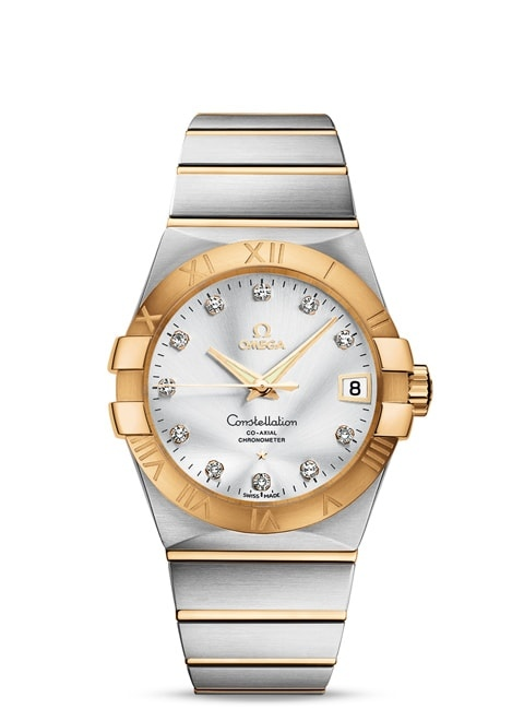Constellation Omega Co-Axial 38mm - 123.20.38.21.52.002