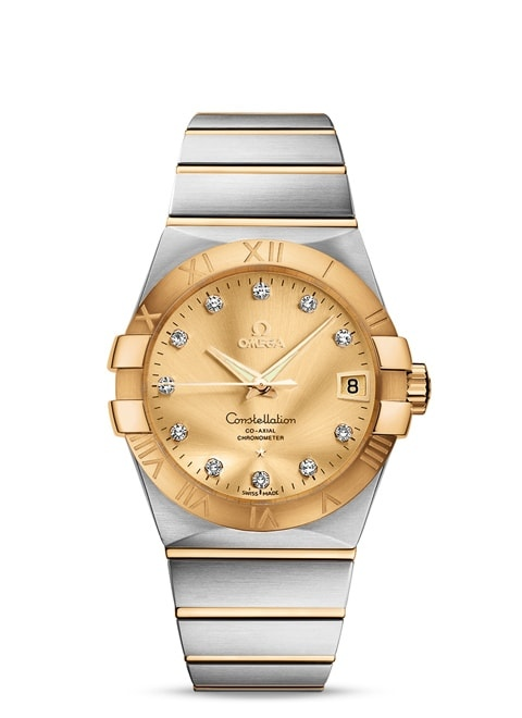 Constellation Omega Co-Axial 38mm - 123.20.38.21.58.001