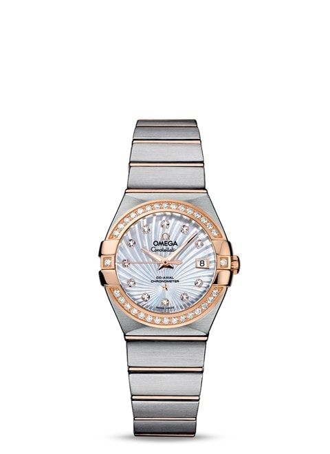 Constellation Omega Co-Axial 27mm - 123.25.27.20.55.001