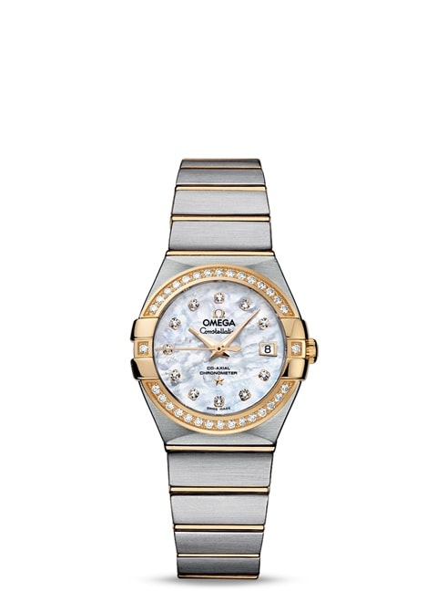 Constellation Omega Co-Axial 27mm - 123.25.27.20.55.003