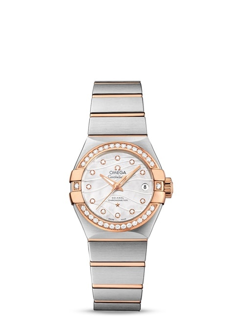 Constellation Omega Co-Axial 27mm - 123.25.27.20.55.005