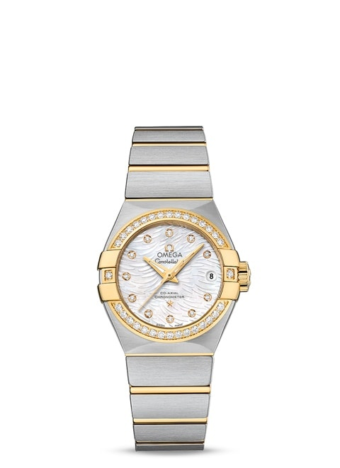 Constellation Omega Co-Axial 27mm - 123.25.27.20.55.007