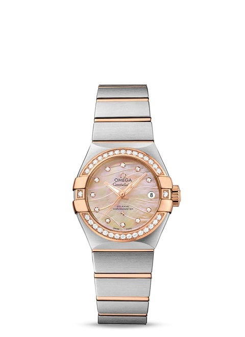 Constellation Omega Co-Axial 27mm - 123.25.27.20.57.003