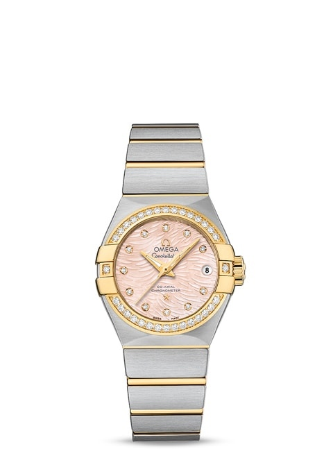 Constellation Omega Co-Axial 27mm - 123.25.27.20.57.005