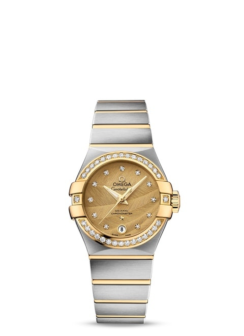 Constellation Omega Co-Axial 27mm - 123.25.27.20.58.002