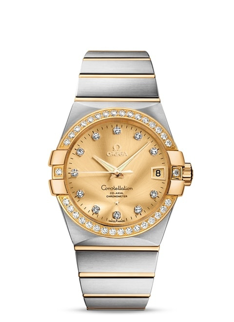 Constellation Omega Co-Axial 38mm - 123.25.38.21.58.001