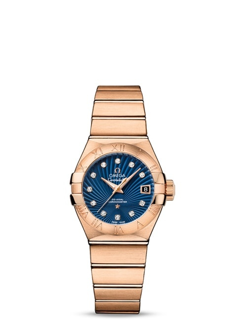 Constellation Omega Co-Axial 27mm - 123.50.27.20.53.001