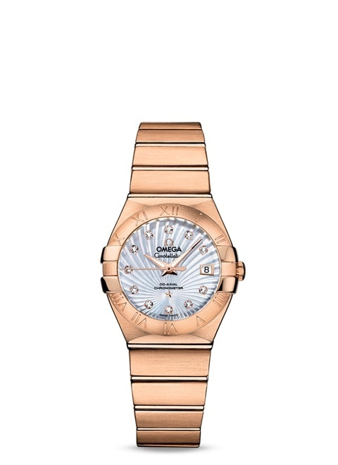 Constellation Omega Co-Axial 27mm - 123.50.27.20.55.001