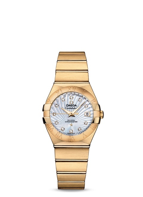 Constellation Omega Co-Axial 27mm - 123.50.27.20.55.002