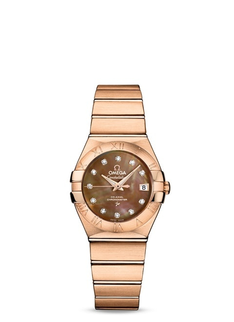 Constellation Omega Co-Axial 27mm - 123.50.27.20.57.001