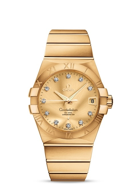 Constellation Omega Co-Axial 38mm - 123.50.38.21.58.001