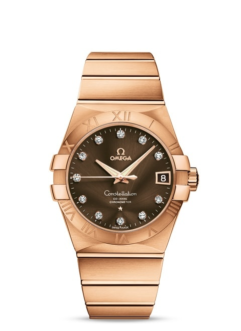 Constellation Omega Co-Axial 38mm - 123.50.38.21.63.001