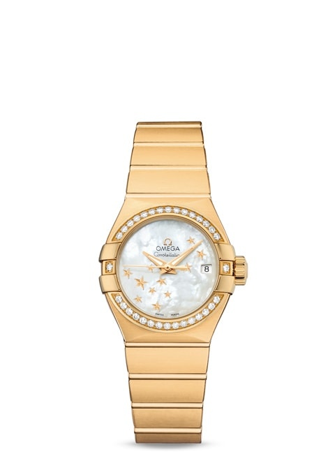 Constellation Omega Co-Axial 27mm - 123.55.27.20.05.001