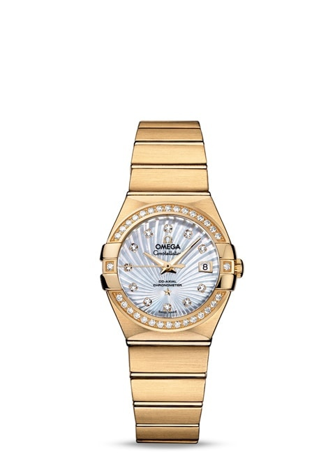 Constellation Omega Co-Axial 27mm - 123.55.27.20.55.002