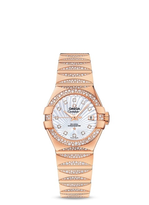 Constellation Omega Co-Axial 27mm - 123.55.27.20.55.003