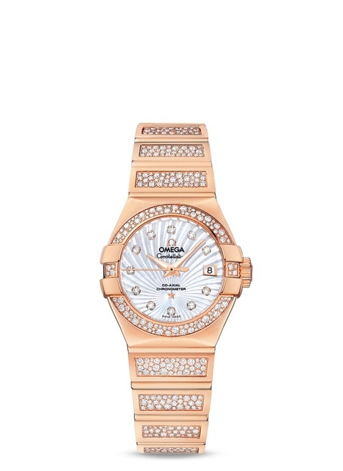 Constellation Omega Co-Axial 27mm - 123.55.27.20.55.004