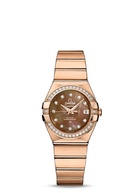 Constellation Omega Co-Axial 27mm - 123.55.27.20.57.001