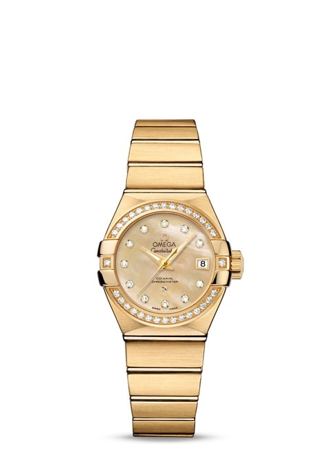 Constellation Omega Co-Axial 27mm - 123.55.27.20.57.002