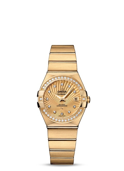 Constellation Omega Co-Axial 27mm - 123.55.27.20.58.001