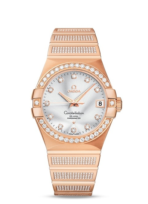 Constellation Omega Co-Axial 38mm - 123.55.38.21.52.005