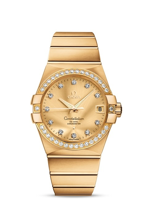 Constellation Omega Co-Axial 38mm - 123.55.38.21.58.001