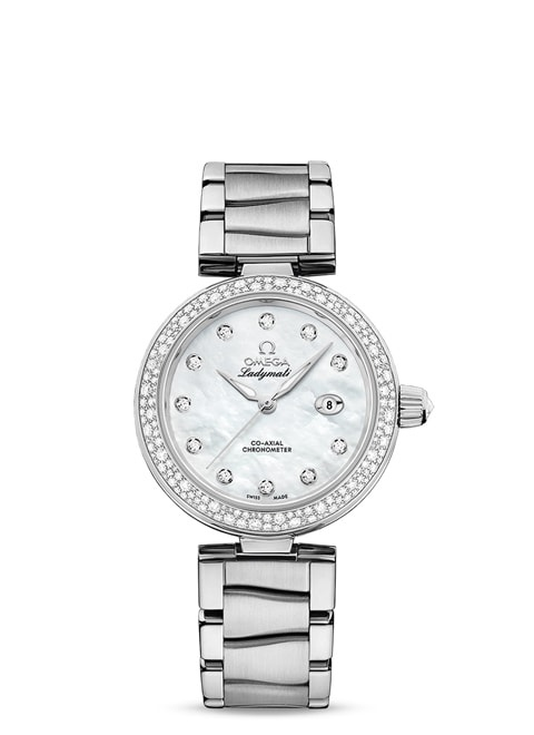 Ladymatic Omega Co-Axial 34 mm - 425.35.34.20.55.002