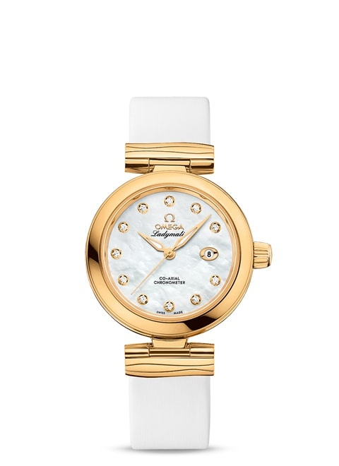 Ladymatic Omega Co-Axial 34 mm - 425.62.34.20.55.003