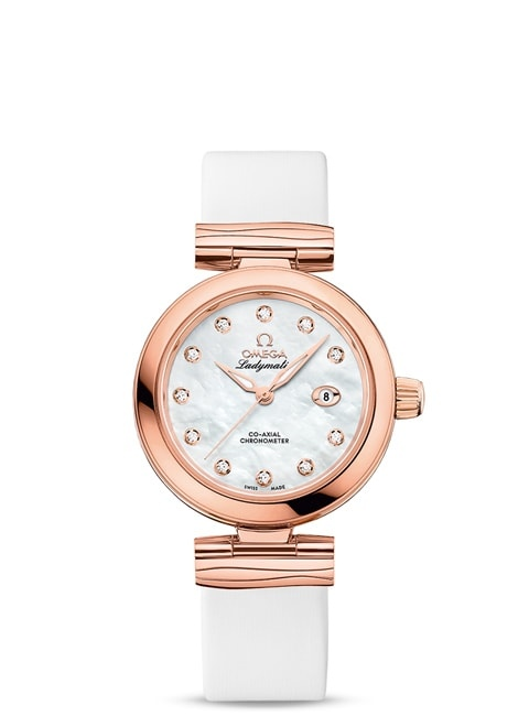 Ladymatic Omega Co-Axial 34 mm - 425.62.34.20.55.004