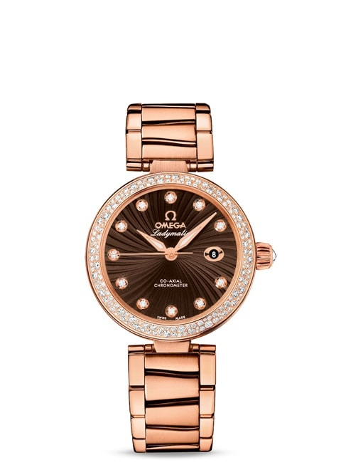 Ladymatic Omega Co-Axial 34 mm - 425.65.34.20.63.001