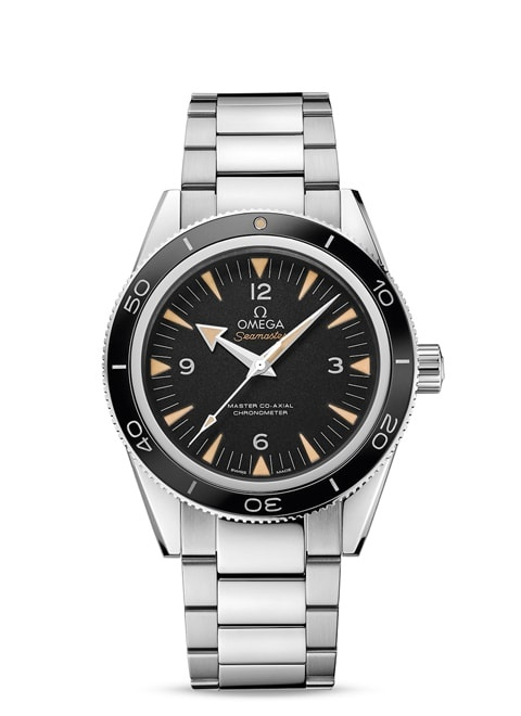 Seamaster 300 Omega Master Co-Axial 41 mm - ステンレススティール & ステンレススティール