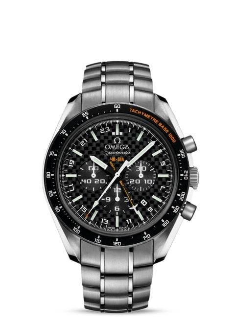 Speedmaster ソーラーインパルス HB-SIA Co-Axial GMT Chronograph Numbered Edition 44.25 mm - チタン & チタン