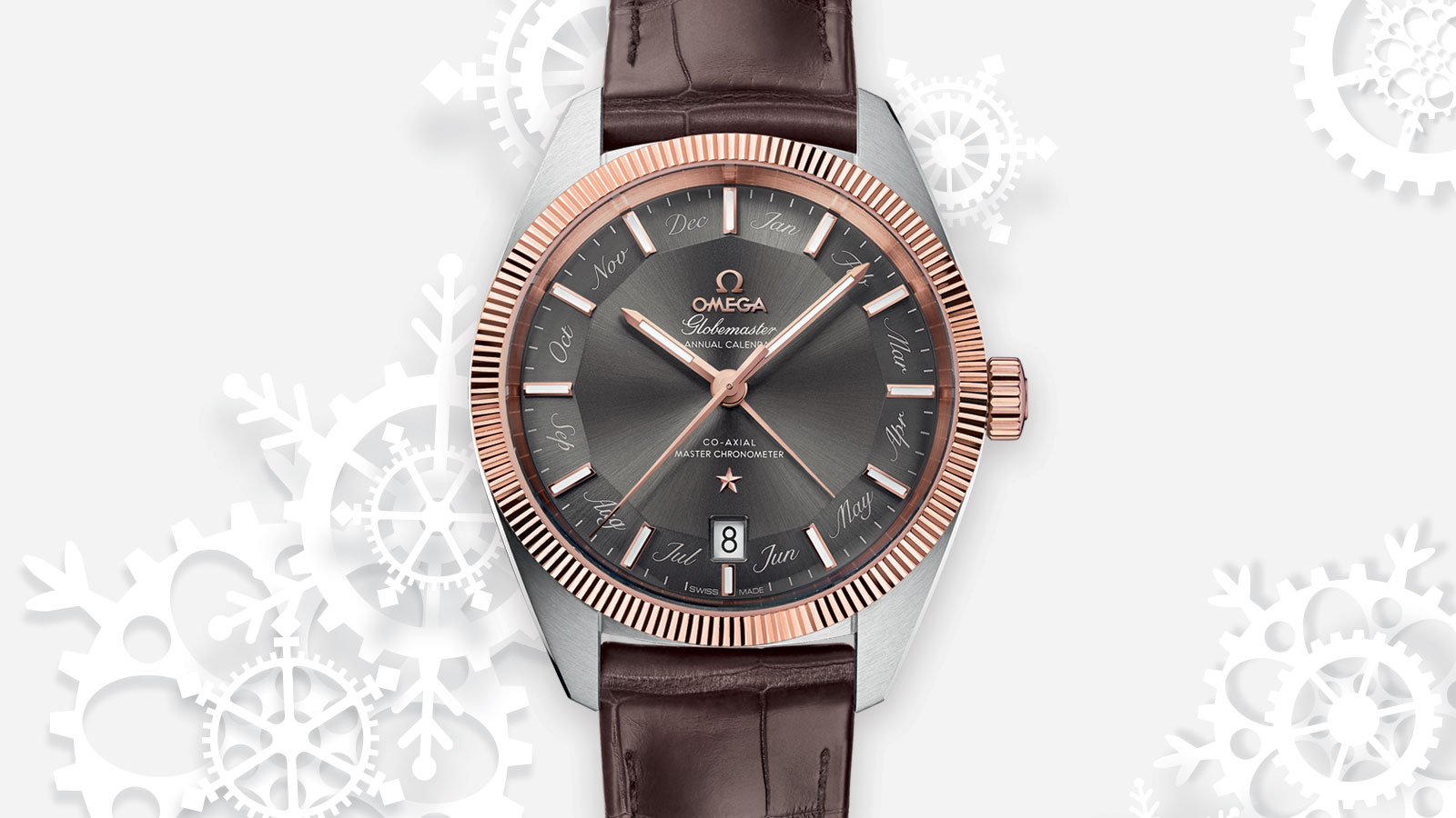 Constellation グローブマスター Globemaster Omega Co‑Axial Master Chronometer Annual Calendar 41 mm ウォッチ - 130.23.41.22.06.001