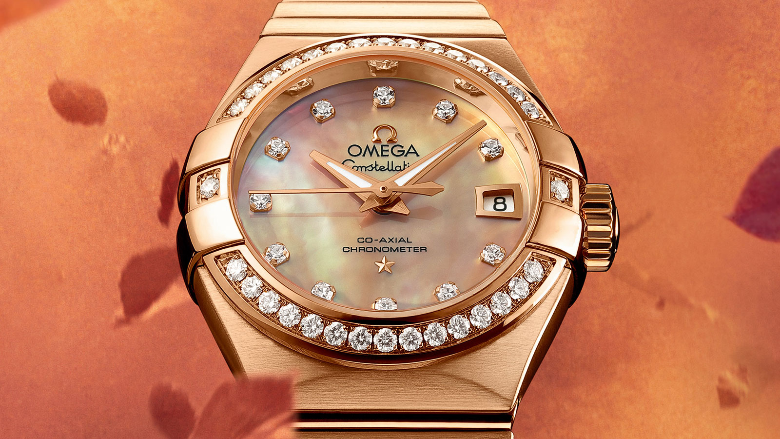 Constellation コンステレーション Constellation Omega Co‑Axial 27 mm ウォッチ - 123.55.27.20.57.001
