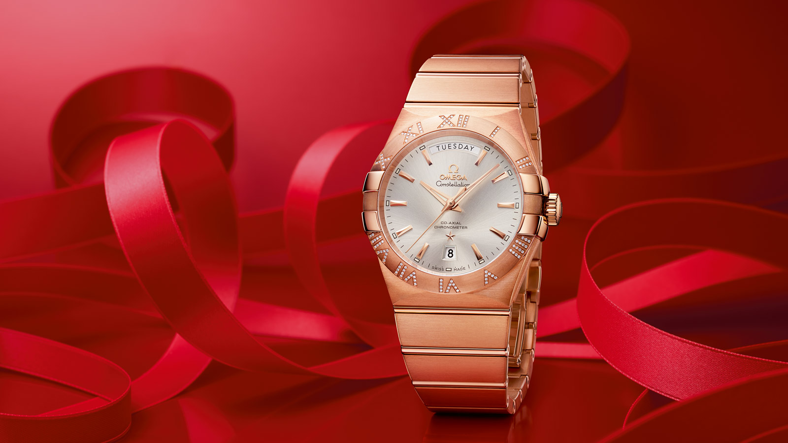 Constellation コンステレーション Constellation Omega Co‑Axial Day‑Date 38mm - 123.55.38.22.02.001 - ビュー 1