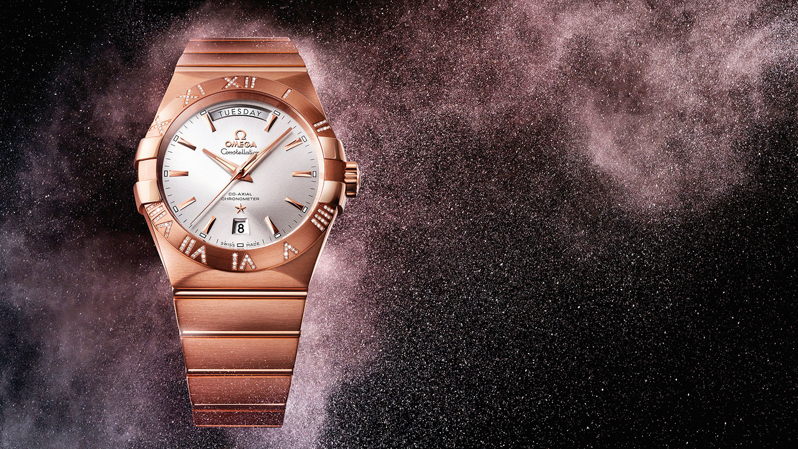 Constellation コンステレーション Constellation Omega Co‑Axial Day‑Date 38mm ウォッチ - 123.55.38.22.02.001
