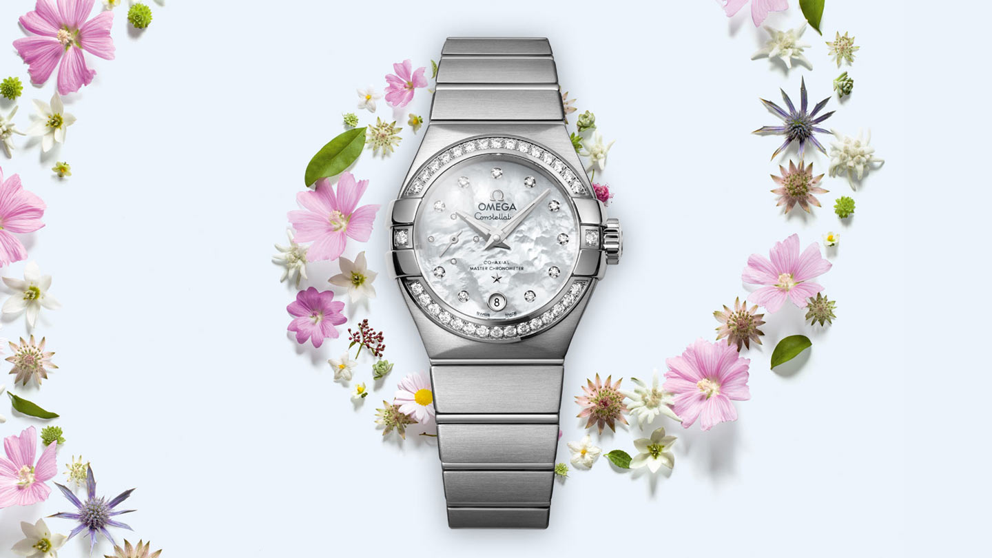 Constellation コンステレーション Constellation Omega Co‑Axial Master CHRONOMETER Small Seconds 27 mm - 127.15.27.20.55.001 - ビュー 1